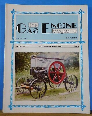 Gas Engine Magazine 1980 Sept Oct Interested in a Big Engine?