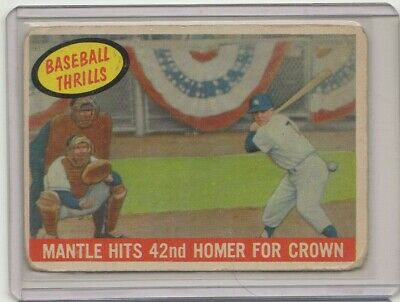 YOU PICK - 1959 Topps Singles Lots VINTAGE ROOKIE RC STAR S-4