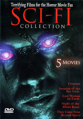 Sci-Fi Collection - 5 Movie Set (DVD) **New**
