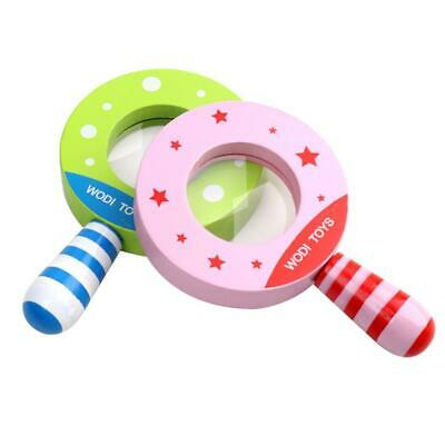 Baby Wood Classic Cutely Magnifier Educational Toy EHE8