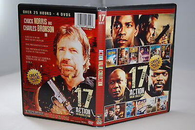 17 Movie ACTION Value Collection (DVD, 2014 Set) SHIPS FREE See Description List
