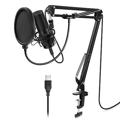 TONOR USB Microphone Kit Q9 Condenser Computer Cardioid Mic for Recording Music