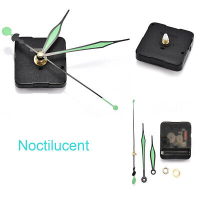 Movement Mechanism Wall Clock Silent Quartz Noctilucent DIY Replacement Tool