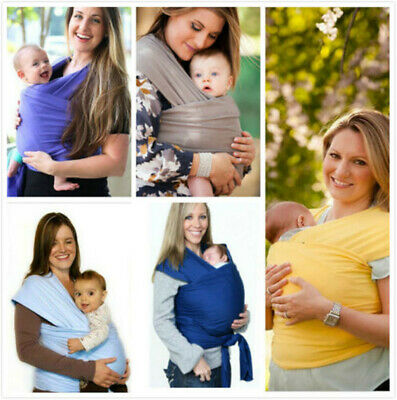 Baby Sling Stretchy Wrap Carrier, Extra Light And Silky Soft - Many Colours @UK