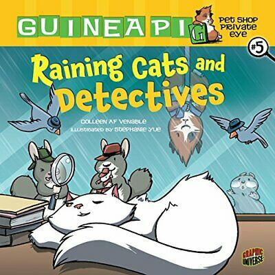 Raining Cats and Detectives - Library Binding NEW Venable, Collee 2012-10