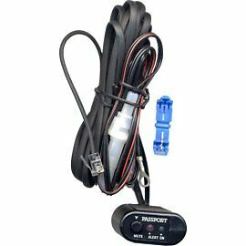 (2 ea) BLUE DIRECT WIRE SMART CORD for ESCORT RADAR DETECTORS 12 ft OEM Solo