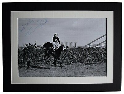 Tommy Stack Signed autograph 16x12 photo display Grand National Red Rum COA