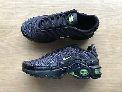 5290852ec3 NIKE AIR MAX Plus Tn Se Bg - Uk Size 4.5 - Black/black/green (Ao5435 ...