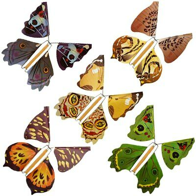 5 Pcs Papillons Magiques / Magic Flying Butterfly / Papillon Gag