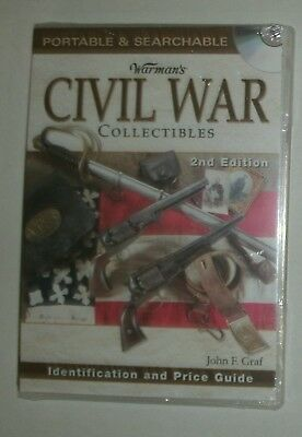 Warman's Civil War ID & Price Guide * 2nd ed * CD ONLY