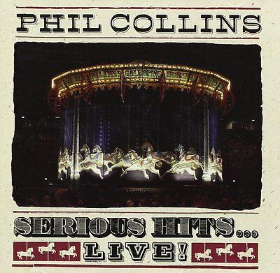 Phil Collins ( New Sealed Cd ) Serious Hits Live ( Greatest Hits Very Best Of )