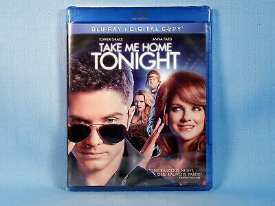 Take Me Home Tonight - Topher Grace & Anna Faris (Blu-ray, 2 Disc) NEW