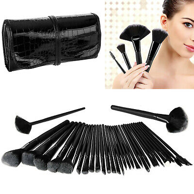 32 Pcs Professional Make Up Brush Set Foundation Brushes Kabuki Makeup Brush Uk