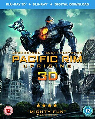 Pacific Rim Uprising (3D Blu-Ray and Blu-Ray Plus Digital Download... -  CD 8VVG