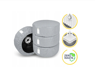 "4x Spare Wheel Protective Cover Tyre Tire Storage Bag 17"" 18"" 19"" 20""  [XL-B]"