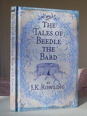 J.K.Rowling THE TALES OF BEEDLE THE BARD 1st/1st UK Edition Hardback