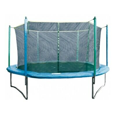 GARLANDO - COMBI M - trampolín Outdoor 244 cm + red de seguridad
