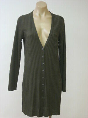 8a2012b43ac EILEEN FISHER Cypress Merino Wool Long Slim Cardigan Sweater XL XLarge NWT   268