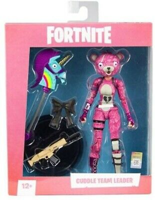 """IN STOCK Mcfarlane Fortnite 7"""" Collectible Action Figure - Cuddle Team Leader"""