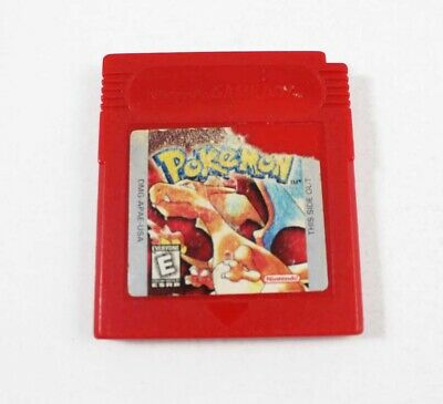 Pokemon Red- Game Boy Game (Cosmetic Flaws) Saves!!