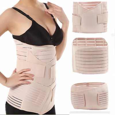 3 in 1 Postpartum Support Recovery Belly waist pelvis Belt Shapewear Body Shaper