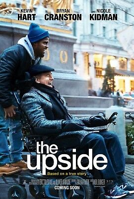 The Upside 27 X 40 Original 2019 D/S Movie Poster - Kevin Hart & Nicole Kidman