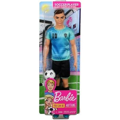 Barbie 2018 I Can Be Soccer Player Ryan NUDE Latino Fashionistas Ken Doll NEW