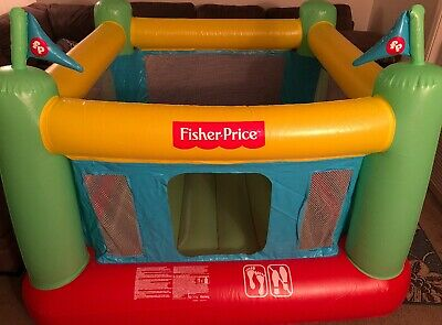 Fisher Price 93532e Indoor Kids Bouncesational Bouncer Inflatable