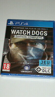 WATCH DOGS Edition Complete PS4 Version Française Neuf Sous Blister