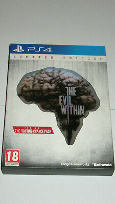 THE EVIL WITHIN Limited Edition PS4 Version Française Comme Neuf
