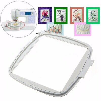 200X200mm Square Hoop Frame Fit For Pfaff Embroidery Sewing Machine White AU