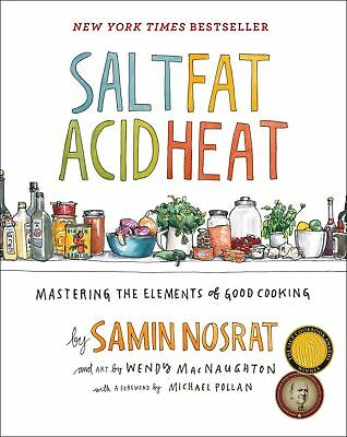 Salt, Fat, Acid, Heat: Mastering the Elements of Good Cooking [PDF]
