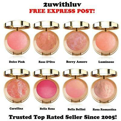 Milani Baked Powder Blush Authentic Fr U.s. Choose Your Shade Free Express Post