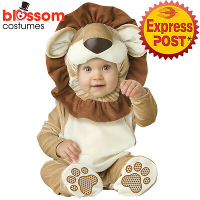 CK1409 Lovable Lion Infant Baby Toddler Halloween Cute Costume Jumpsuit Animal