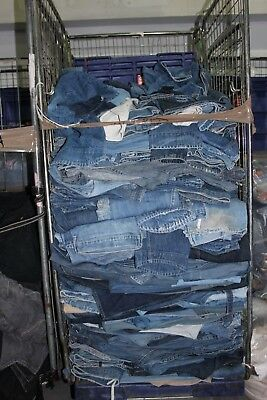 Job Lot 20Kg Vintage Levis Jeans Engineered Denim Wholesale Clearance Market G 2