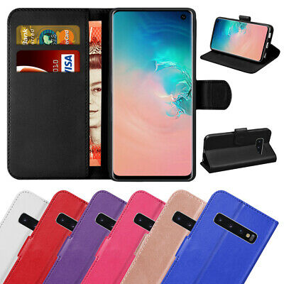 Case Cover For Samsung Galaxy S8 S9 S10 Plus S7Edge S6 Leather Wallet Book Phone