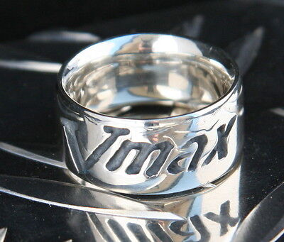 20 mm Vmax Ring #2 Unikat Sterling 925 Unisex Yamaha BMW Kawa BEI MAGIC-KNIFE