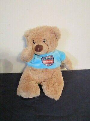 """6.5/"""" Keel Toys 2003 London Underground Teddy Bear toy /""""LONDON/"""" New with tags"""