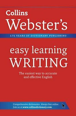 Writing (Collins Webster's Easy Learning) by Collins Dictionaries Paperback The