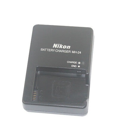 Mains Wall Battery Charger MH-24 for Nikon D3100 D3200 D5100 D5200 D5300 D5500