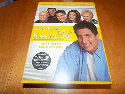 Everybody Loves Raymond The Complete Sixth Season Tv Comedy 6 Dvd Set Sealed New