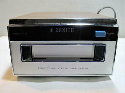 Vintage Zenith 8-Track Stereo Tape Player Model D635W Good Working Condition