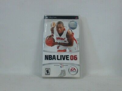 NBA LIVE 2006 PSP Playstation Portable Complete in Box w/ Manual CIB Very Good