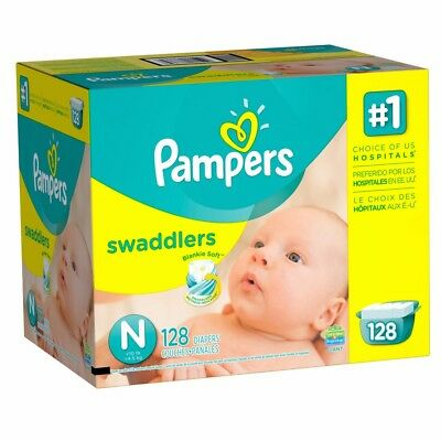 Pampers Swaddlers Disposable Diapers - Size N