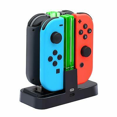 Controller Charger Nintendo Switch, Charging Dock Stand Station Switch Joy-con