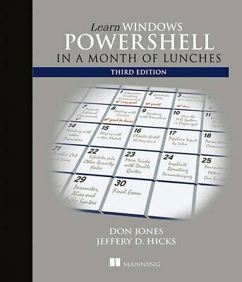 Learn Windows PowerShell in a Month of Lunches 3rd Edition, EB00K