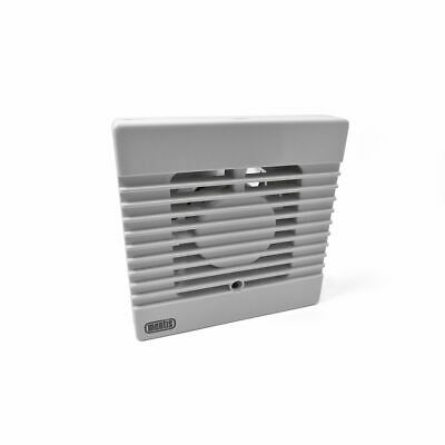 """White Mentis 100Mm 4"""" Standard Axial Extractor Fan For Static Caravan Bathroom"""