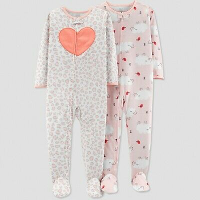 c68094e71 JUST ONE YOU CARTER S Toddler Girls  2pc Pajama Set Reindeer Pink ...
