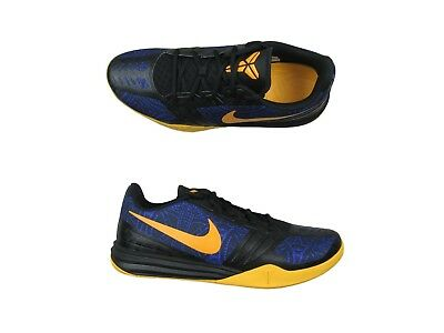 official photos 57651 5c68c Nike Kobe Mentality 4 AM Shoes Size 13 Mens Purple Gold Black 704942 501 New