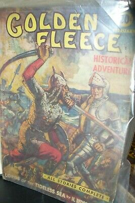 Golden Fleece February 1939 Us Pulp Magazine